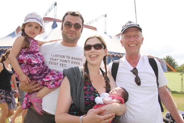 Lou Harris festival family