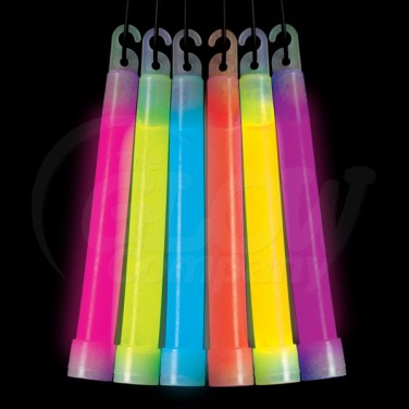 6″ Glowsticks with Lanyard
