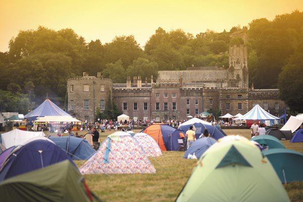 Port Eliot Festival scene