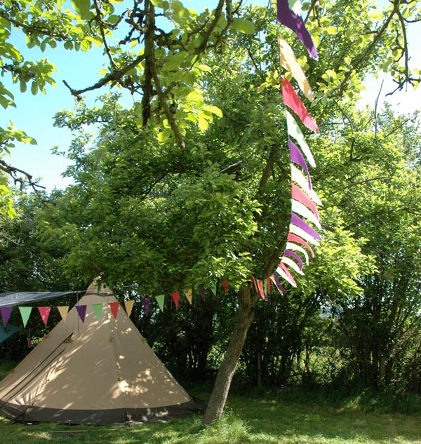 Bell Tent and Bunting