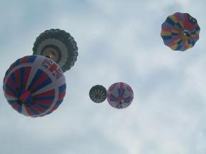 cornbury festival balloons