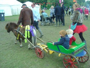 pony rides shambala