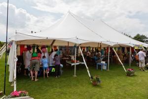 nibley festival craft tent