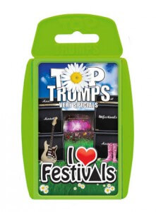 I Love Festivals - Top Trumps