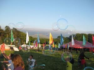 bubbles at kaya festival