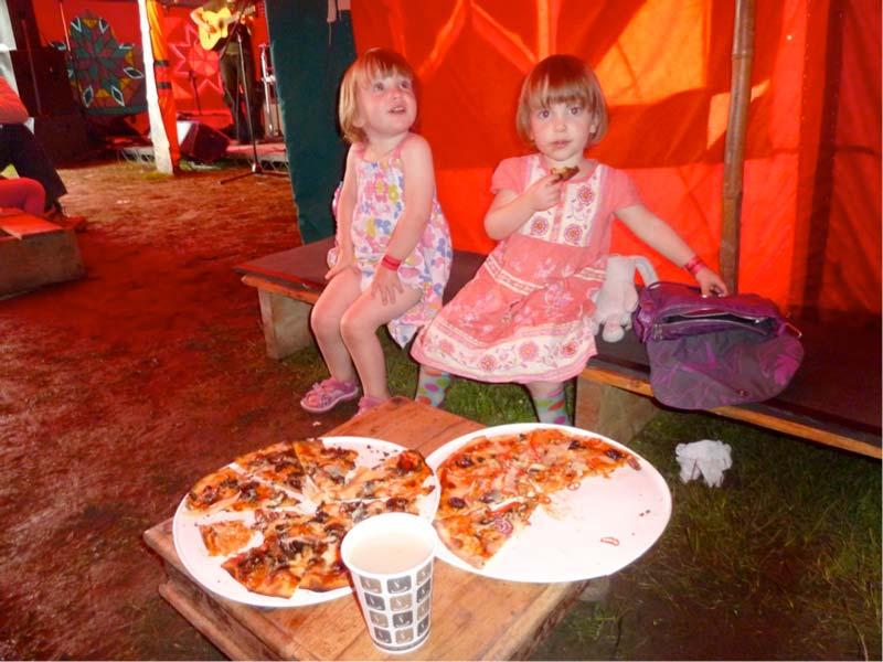 pizza at summer breeze 2012
