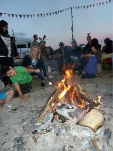 marshmallows chilled in a field 2012 (c) Naomi Jones