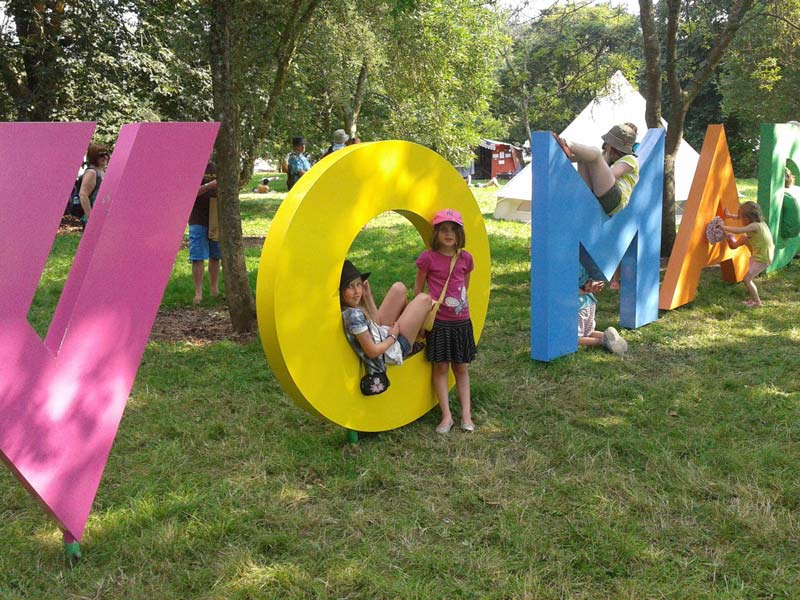 womad festival kids sign 2012