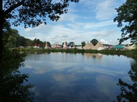 Shambala festival lake