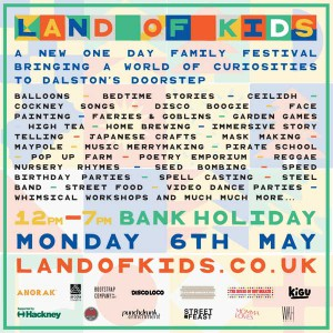 land of kids flyer