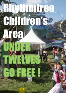 rhythmtree festival kids poster