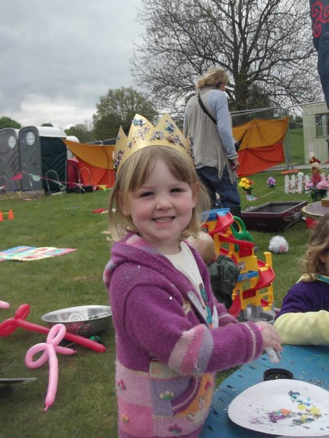 Princess in Angel Gardens