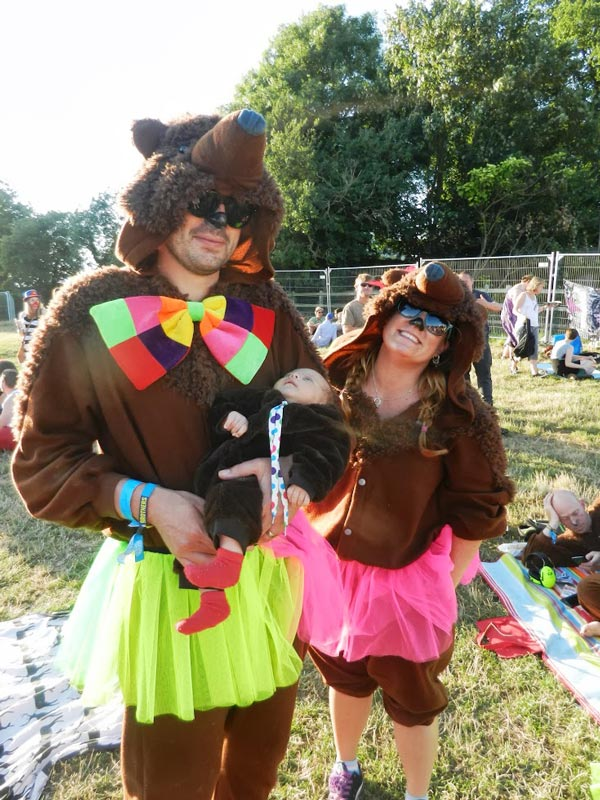 Family of Circus Bears, Standon Calling 2013