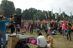 Bollywood Dance Workshop - Shambala 2013