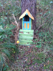 Twiggle House in the tree.