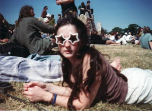 Glastonbury aged 17