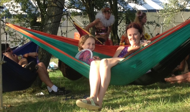kids at Secret Garden Party 2014