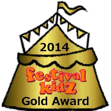 Festival Kidz Gold award 2014