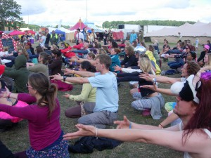 80s Power Ballad dance workshop - Shambala 2014