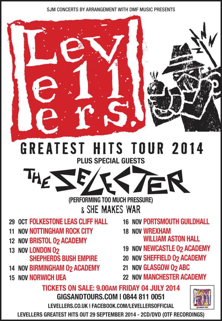 Levs Greatest Hits Tour - tour listing