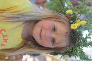 floral crown camp bestival