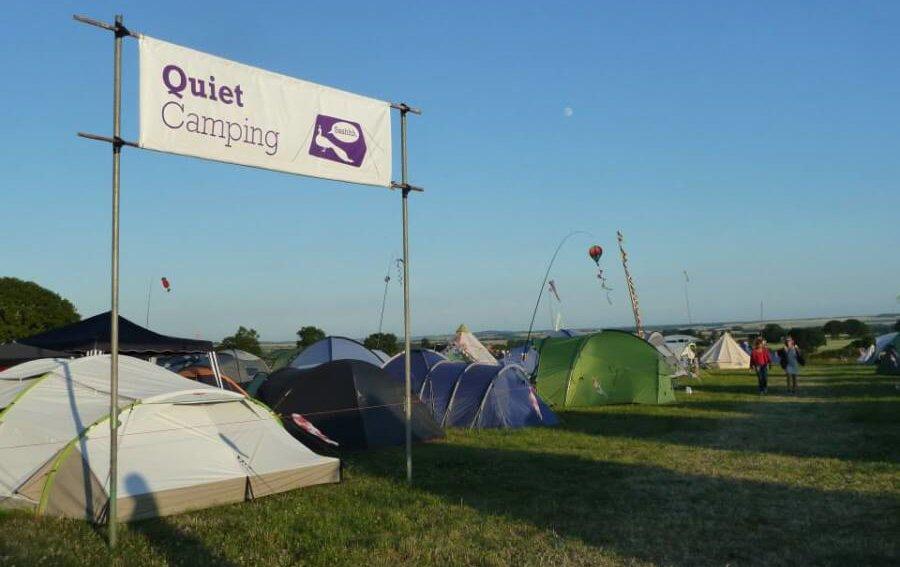 Quiet camping