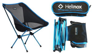 helinox light-weight camping chair