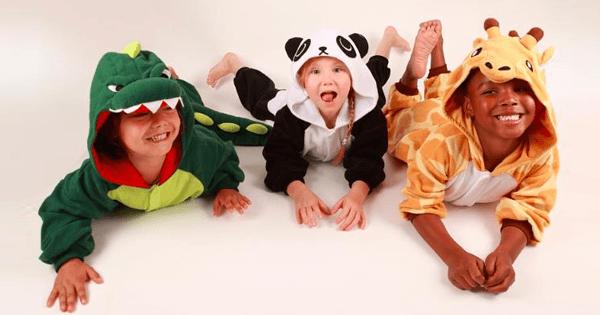 kigu kids animal onesies
