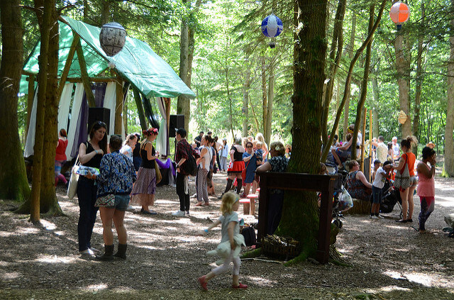 Woodland stage