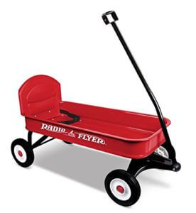 Radio Flyer festival trolley