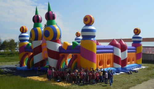 Worlds Biggest Bouncy Castle