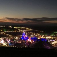 Boomtown 2016 at night