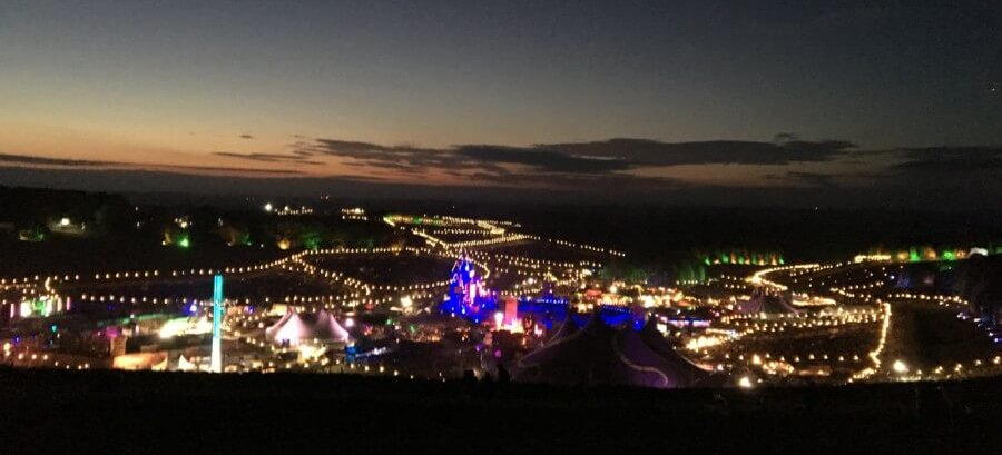 Boomtown festival night