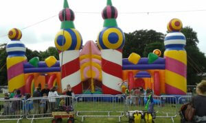 World's biggest bouncy castle