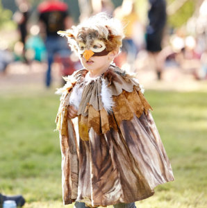 Owl Costume for the Tribal Tournament - Just So Festival 2016