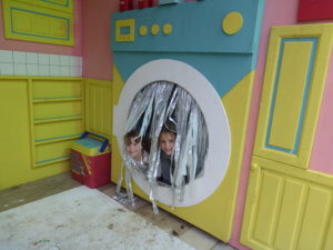 Secret room in the washing machine - Blissfields 2016