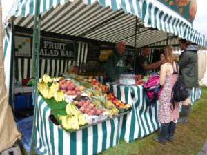 Green Man Fruit Stall