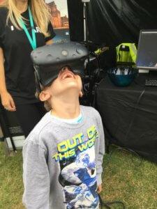 Virtual reality Bluedot