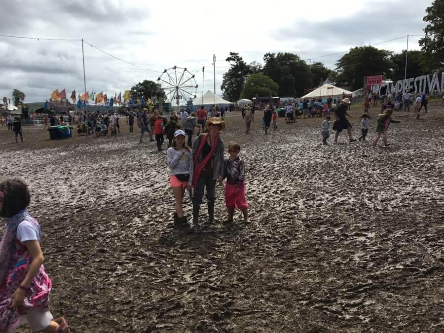 muddy festival family