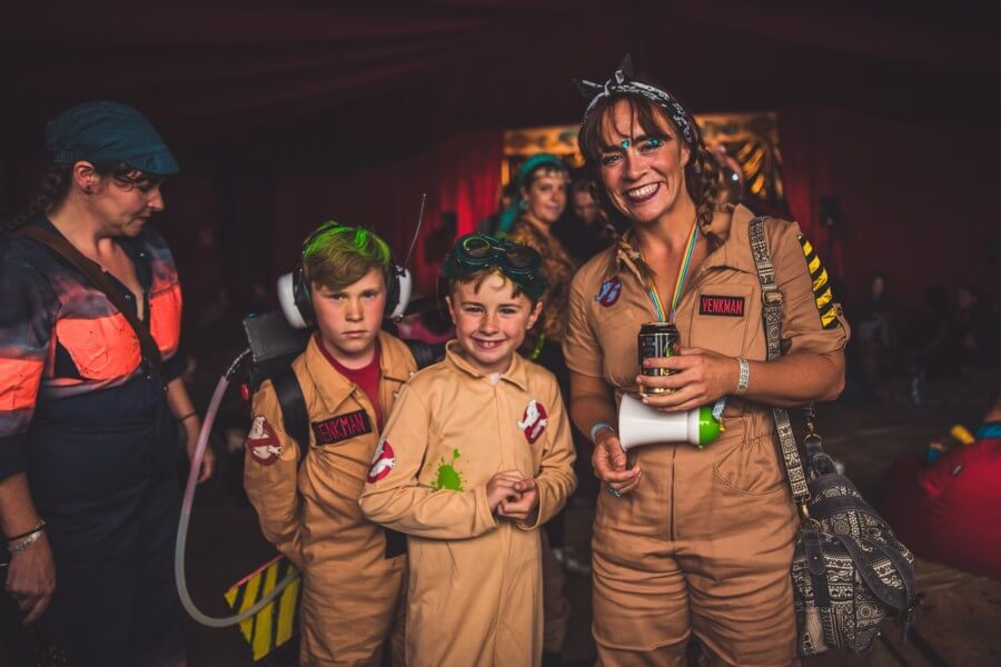 Ghostbusters at FarmFest 2017