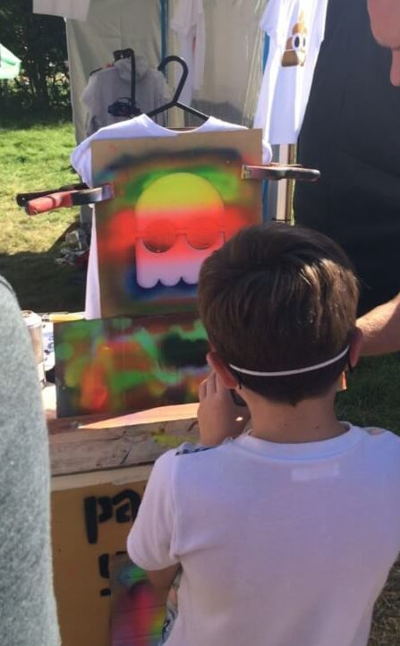Print your own T-shirt at the Big Feastival 2017