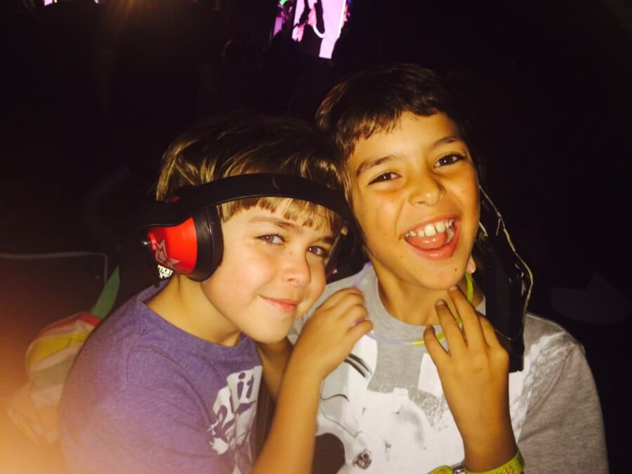 The Silent Disco - The Big Feastival 2017