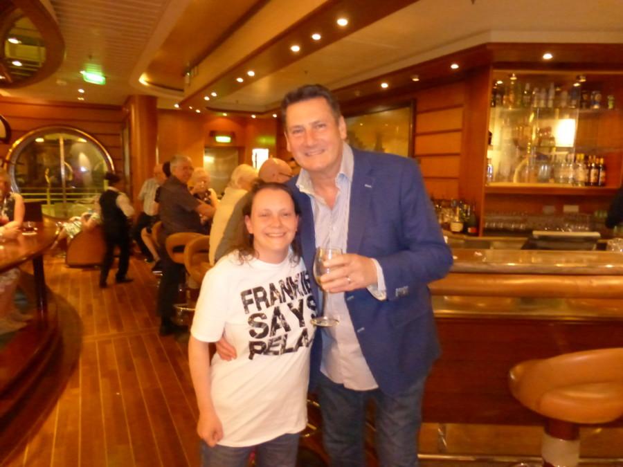 Me and Tony Hadley
