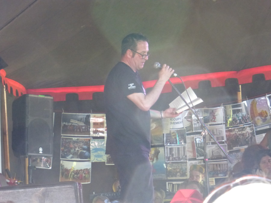 Mark Thomas at The Shindig Weekender