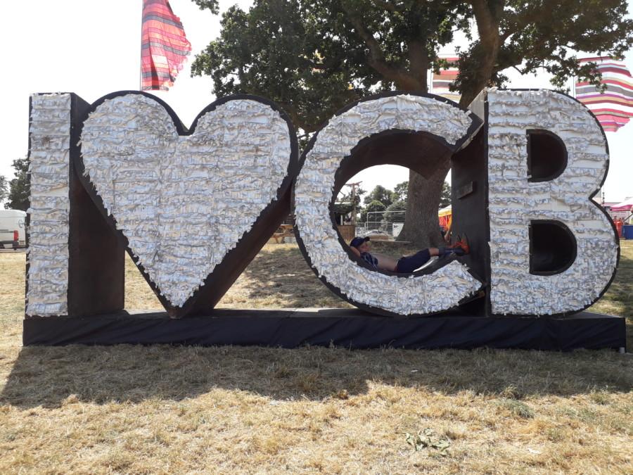 Big CB letters