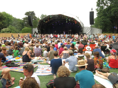 Main Lawn and Stage - Larmer Tree Festival 2018