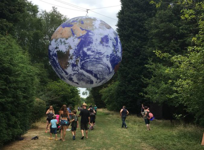 Bluedot Luke Jerram: Earth