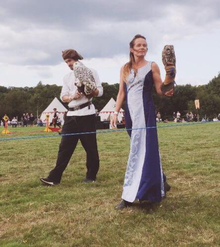 England's Medieval Festival 2018 falconry