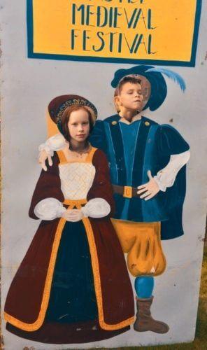 England's Medieval Festival 2018 kids