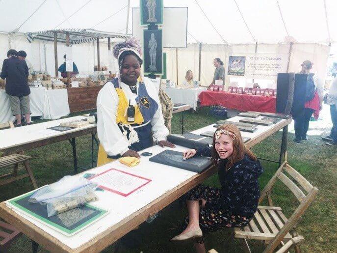 England's Medieval Festival 2018 stall